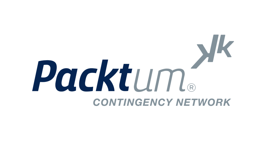 Packtum logo with white background